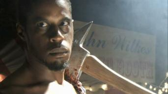 Ahmed Best's ghost in '2001 Maniacs: Field of Screams'