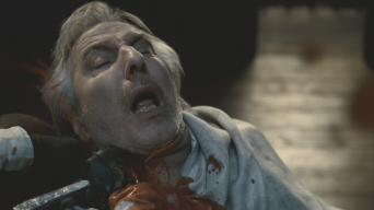 Alan Rickman in 'Sweeney Todd: The Demon Barber of Fleet Street'