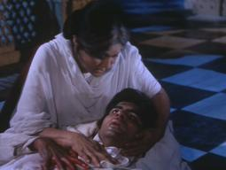 Amitabh Bachchan (in Nirupa Roy's arms) in 'Deewaar' (1975)