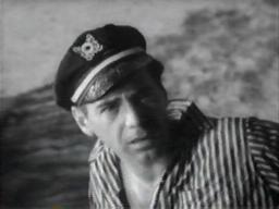 Antony Carbone before his off-screen death in 'Creature from the Haunted Sea'