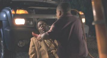 Bernie Mac (with Tony Cox) in 'Bad Santa'