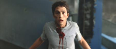 Bobby Campo in premonition of his death in 'The Final Destination'