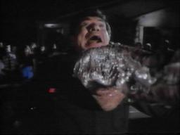 Claude Akins in 'Monster in the Closet'