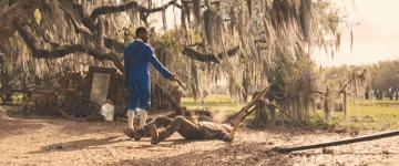 Cooper Huckabee's death in 'Django Unchained'