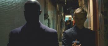 Corey Stoll's death (behind Djimon Hounsou and Neil Jackson) in 'Push'