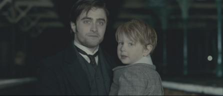 Daniel Radcliffe's and Misha Handley's ghosts in 'The Woman in Black'