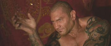 Dave Bautista in 'The Man with the Iron Fists'