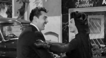 Ernie Kovacs (with Cyd Charisse) before his off-screen death in 'Five Golden Hours'