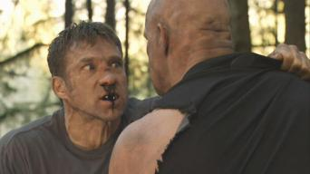 Gary Daniels (with Steve Austin) in 'Hunt to Kill'