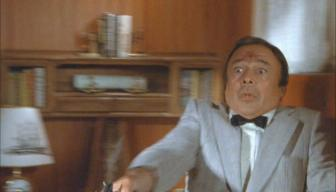 Herbert Lom in 'The Man with Bogart's Face'