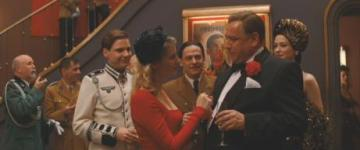 Hilmar Eichhorn (greeting Melanie Laurent) in 'Inglourious Basterds'