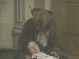 Hugh Laurie (with Tony Robinson) in 'Blackadder the Third: Duel and Duality'
