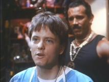 James Lorinz (with James Gonzalez) in 'Frankenhooker'
