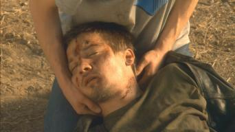 Jeremy Renner in 'Love Comes to the Executioner'