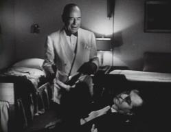 Jim Backus (with Roland Young) in 'The Great Lover'