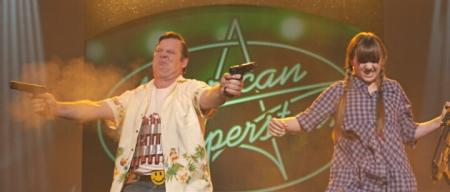 Joel Murray (with Tara Lynne Barr) in 'God Bless America'