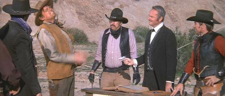 John Alderson (with Slim Pickens & Harvey Korman) in 'Blazing Saddles'