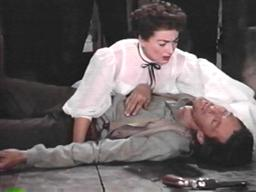 John Carradine (with Joan Crawford) in 'Johnny Guitar'