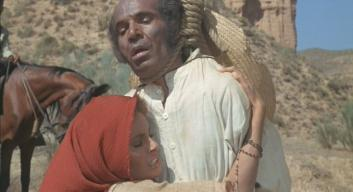 Jose Manuel Martin (with Raquel Welch) in '100 Rifles'