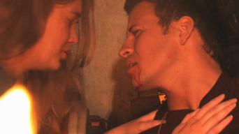 Lance Predmore (with Lindsey Anderson) in 'Thankskilling'