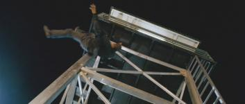 Lloyd Adams falling to his death in 'X-Men: The Last Stand'