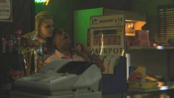 Marshall Manesh (with Sophie Monk) in 'Life Blood'