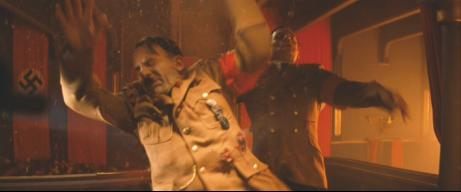 Martin Wuttke (left) with Sylvester Groth (right) in 'Inglourious Basterds'