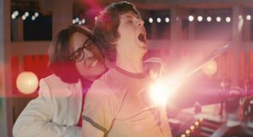 Michael Cera (with Jason Schwartzman) in 'Scott Pilgrim vs. the World'