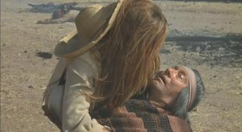 Michael Forest (with Raquel Welch) in '100 Rifles'