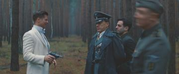 Michael Kraz' death in 'Inglourious Basterds'