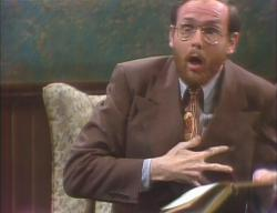 Michael O'Donoghue in 'Saturday Night Live' (Oct. 11, 1975)