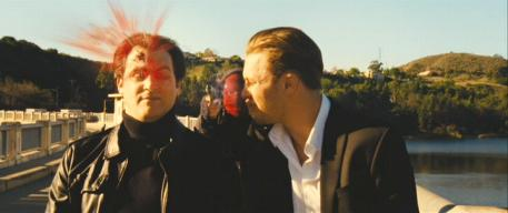 Michael Stuhlbarg (left) with Sam Rockwell (center) and Michael Pitt (right) in 'Seven Psychopaths'