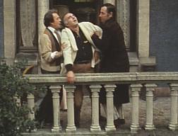 Michel Piccoli (center) with Ugo Tognazzi and Philippe Noiret in 'La Grande bouffe'