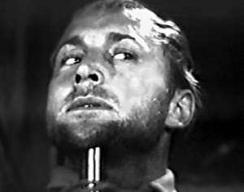 Nick Adams before his off-screen death in 'Wagon Train: The Traitor'