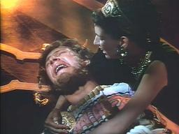 Peter Ustinov (with Rosalie Crutchley) in 'Quo Vadis?'