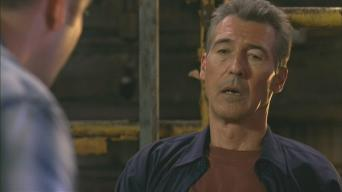 Randolph Mantooth in 'Fire Serpent'