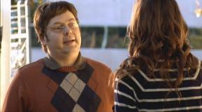 Rich Fulcher (with Erinn Hayes) in 'Childrens Hospital: Run, Dr. Lola Spratt, Run'