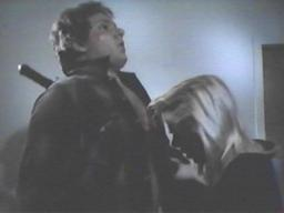 Scott Rhodes (with Ruth Collins) in 'Prime Evil'