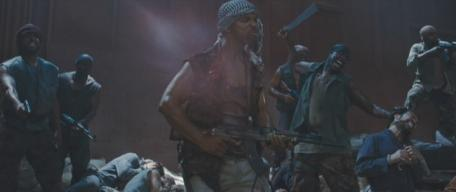 Senyo Amoaku in 'The Expendables'