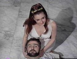 Stanley Baker (with Rosanna Podesta) in 'Sodom and Gomorrah'