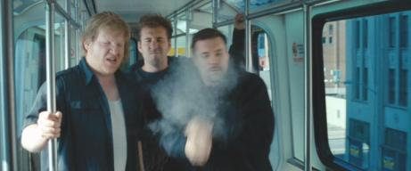 Steffen Dziczek (center) with Timothy J. Richardson (left) and Christopher Stadulis (right) in 'Alex Cross'