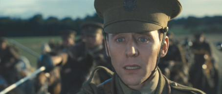 Tom Hiddleston before his off-camera death in 'War Horse'