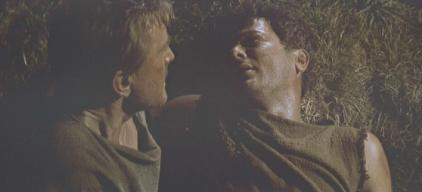 Tony Curtis (with Kirk Douglas) in 'Spartacus'